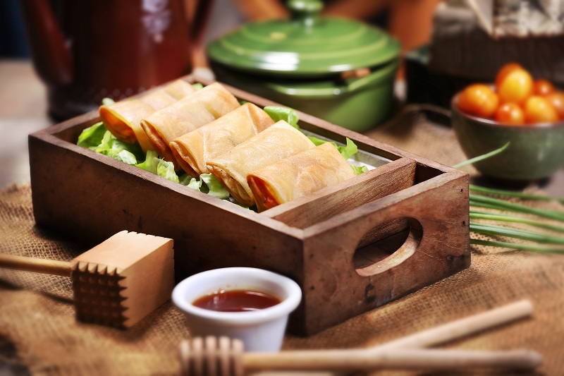 smoked-duck-spring-rolls